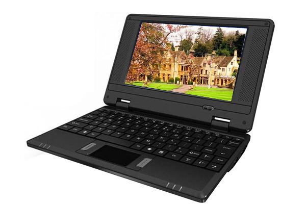 mini netbook w lan laptop 7 zoll windows ce notebook ebay. Black Bedroom Furniture Sets. Home Design Ideas